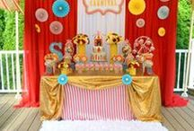 Carnival/Circus Party Ideas / carnival party ideas | circus party ideas