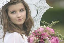 Meadow style wedding flowers