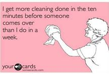 Cleaning Tips / by Fruzsina McGinness