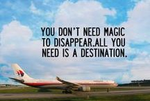 Travel Inspiration / Because the different between you and your comfort zone is a little bit of inspiration.