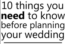 Wedding Ideas & Suggestions