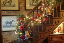 Country Christmas / Christmas inspiration with a country theme.
