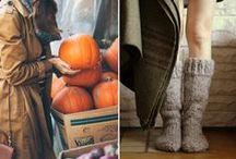 Autumn / Inspiration | Outside | Autumn | Into the Woods | Chestnuts | Hot Soup | Fall | Candles | Pumpkin | Boots | Leaves | Sweaters | Wine | Hot Chocolate | Umbrella | Coffee | Tea | Warm | Wool | Red | Homebaked cake |  Orange | Brown | Grey | Cosy Blankets | Falling Leaves | Trees | Nature