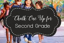 SECOND Grade / second grade, 2nd grade, primary, elementary, education, teacher, teaching, learning. math, science, ELA, phonics, writing