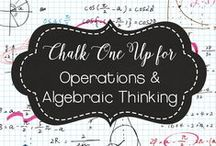 COMMON CORE:  Operations and Algebraic Thinking / Common Core, CCSS, math, operations, algebraic thinking, second grade, 2nd grade, elementary, primary, education, learning, teaching, teacher