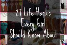 Life hacks that I will probably never look at but feel the need to pin anyways.
