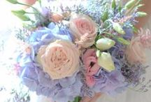Vintage wedding flowers  / Vintage wedding flowers pastel colours Lilac pink Manchester wedding flowers
