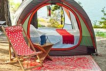 Camping Inspiration / Camping advice, campsites, and ideas for having a wonderful time outside. Camping can be a cost effective travel idea for your family, and be a fun activity for kids.
