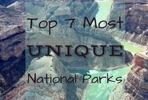Outdoor Travel Bucket List / Ecotourism destinations on my wish list. National parks, beaches, islands, mountain towns, and outdoor adventures I must see one day!