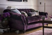 Pink and purple interiors