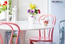 Spring / Spring is the most uplifting season of all. Embrace spring flowers, soft pretty colours and breathe new life into the home.