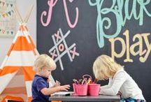 Nursery interiors / Fun and colourful ideas for a contemporary nursery.