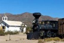 Trains, trolleys, tramways... / All aboard !...
