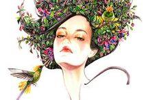 Floral Fashion Portraits