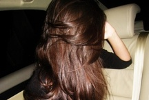 Her hair, Falls perfectly without her tryin<3 / by Teia Lima
