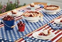 July 4th / Celebrate the USA and summer with friends and family by throwing a party! Rent everything you need from Event Essentials and take a look at our board for inspiration!