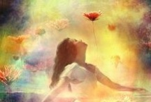 """Ethereal / ETHEREAL:   """"Extremely delicate and light in a way that seems too perfect for this world.  Heavenly or spiritual. """"Otherworldly visions."""" / by Marsha Ross"""