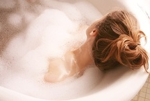 Gonna stay in the bath tub 'till the soap disappears / by Teia Lima