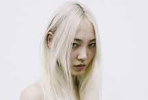 SOO JOO PARK / years ago, on a sunny day, i was introduced to a girl in a park. now she's in magazines and on runways - lady-posing and generally killing it. / by Enid Hwang