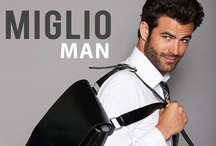 "Miglio Man / ""The new Miglio Man Collection is the definition of modern masculinity. Skillfully handcrafted, Miglio Man interprets the trends of the moment whilst still celebrating timeless style."" Jenny Miller"