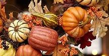 Fall Decor / Gorgeous fall items to help get you ready for fall decorating and entertaining!