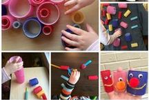 Arts & Crafts / Music, painting, sculpting and anything to let kids express and create!