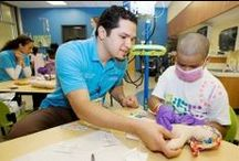 Child Life Specialists / Child life specialists- doing what they do best!