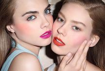 Makeup ideas for editorials / Various makeup looks to get inspired