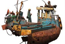 Art of Ian McQue / All images by Ian McQue, Copyright © respective owners