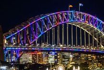 Vivid Sydney 2016 / Vivid is a winner for visitors and locals alike, from young kids to the young at heart. There are more than 60 light installations around Sydney.
