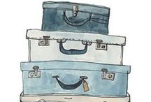 OLD SUITCASES / by Colleen Sullivan Blake