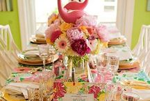 Party Ideas&Table Settings