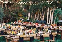 Reception Inspiration / A collection of our favorite wedding reception ideas.