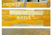 DIY / all kinds of DIY projects are here--floors, furniture and hacks