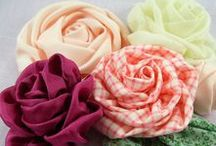 Fabric, Paper, Ribbon etc Flowers / by Mariposa Jade