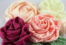 Fabric, Paper, Ribbon etc Flowers / by Mariposa Jade
