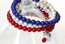 Independence Day / Let your freedom ring on the 4th of July or any time it's needed ~ jewelry and inspiring images of bright stars, broad stripes and the bold idea of independence.