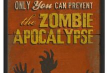 """Zombie Prepping / What can I say? I love zombie movies and never miss """"The Walking Dead!"""" / by Louise Afanasiw"""