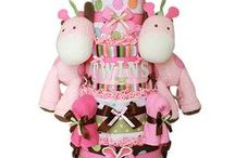 Baby shower - diaper cakes ideas and tutorials / Baby shower gifts / by Mariposa Jade