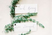 Name Cards & Seating Charts / Name Cards & Seating Charts inspiration