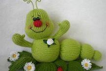 Amigurumi, crochet, knitting, needlepoint / by Mariposa Jade