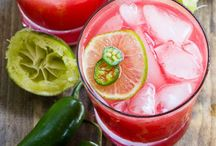Drink Up / Some of my favorite drinks to make up from season to season.