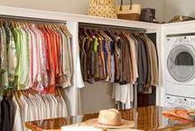 Home - Laundry Room / by JamJar Design Shop
