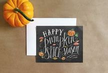 Fall/Halloween Inspired Cards / An Assortment of fun fall inspired and Halloween themed cards.