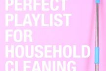 Cleaning Playlist / Get pumped up to clean with some of these great playlist ideas!