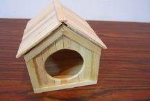 DIY for hamsters / Hamster ideas, hamster crafts, hamster DIY, DIY para hamsters