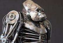 Metal Art / Arte com metais