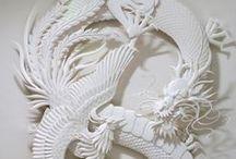 Arte com Papel / Paper Art - artesanato com papel