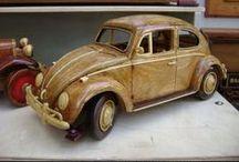 Wooden / Wooden art crafts - Artesanato em madeira