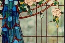 stained and art glass / by Mary Ann Cockerille